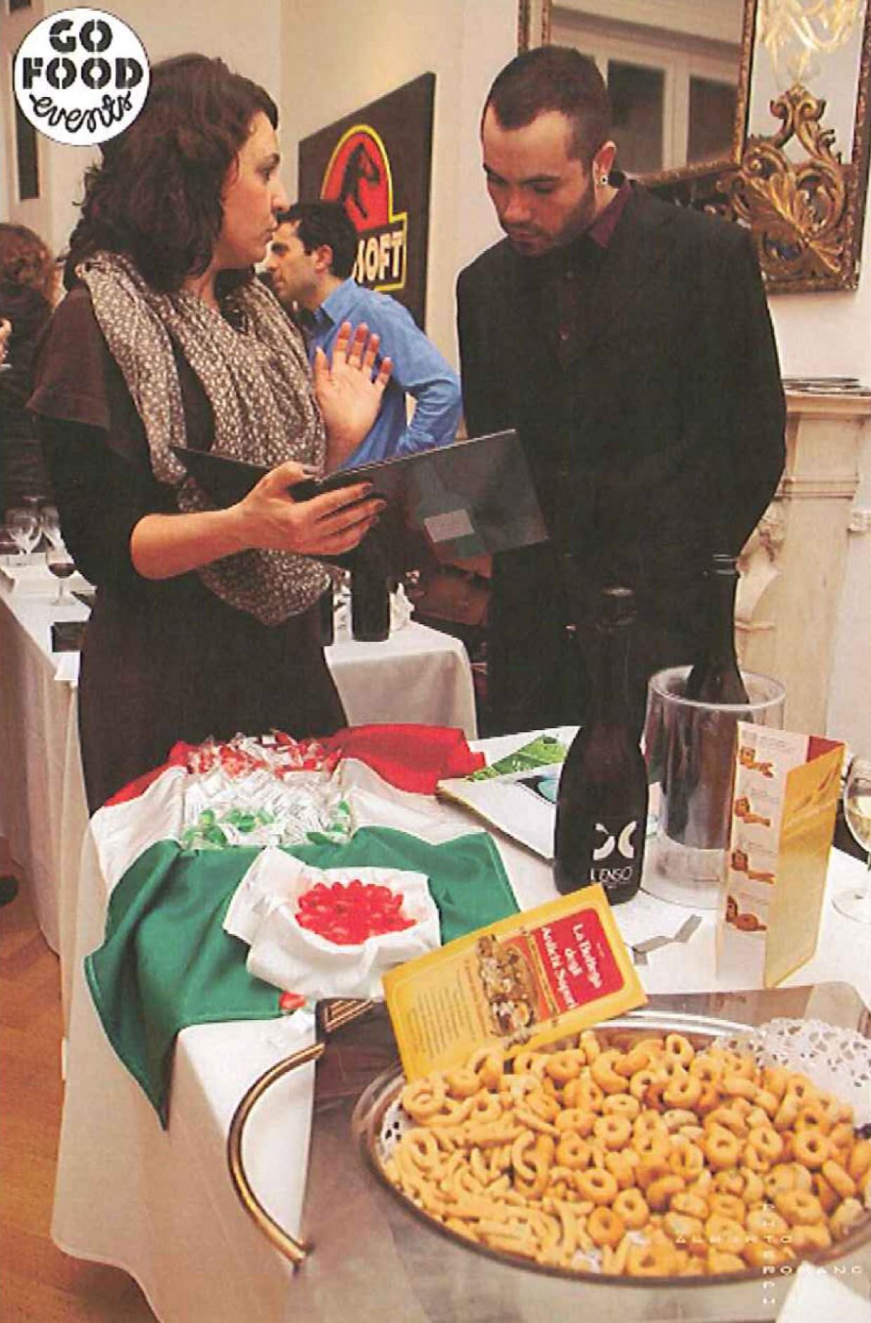 """Prosecco Coìne and VNC Prosecco at the """"Exquisite Italian Taste Experience"""""""